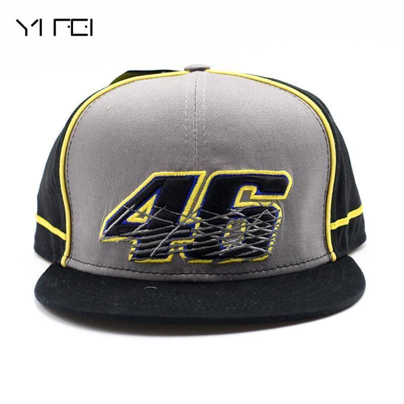 380ef7f176f 2018 MOTO GP 46 Motorcycle 3D Racing Embroidered Cap Men s Women Snapback Caps  YAMAHA Hip-Hop Hat New Rossi VR46 Baseball Cap. Yesterday s price  US   12.63 ...