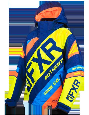Black//Fuchsia, Size 8 FXR Childrens Helium Jacket