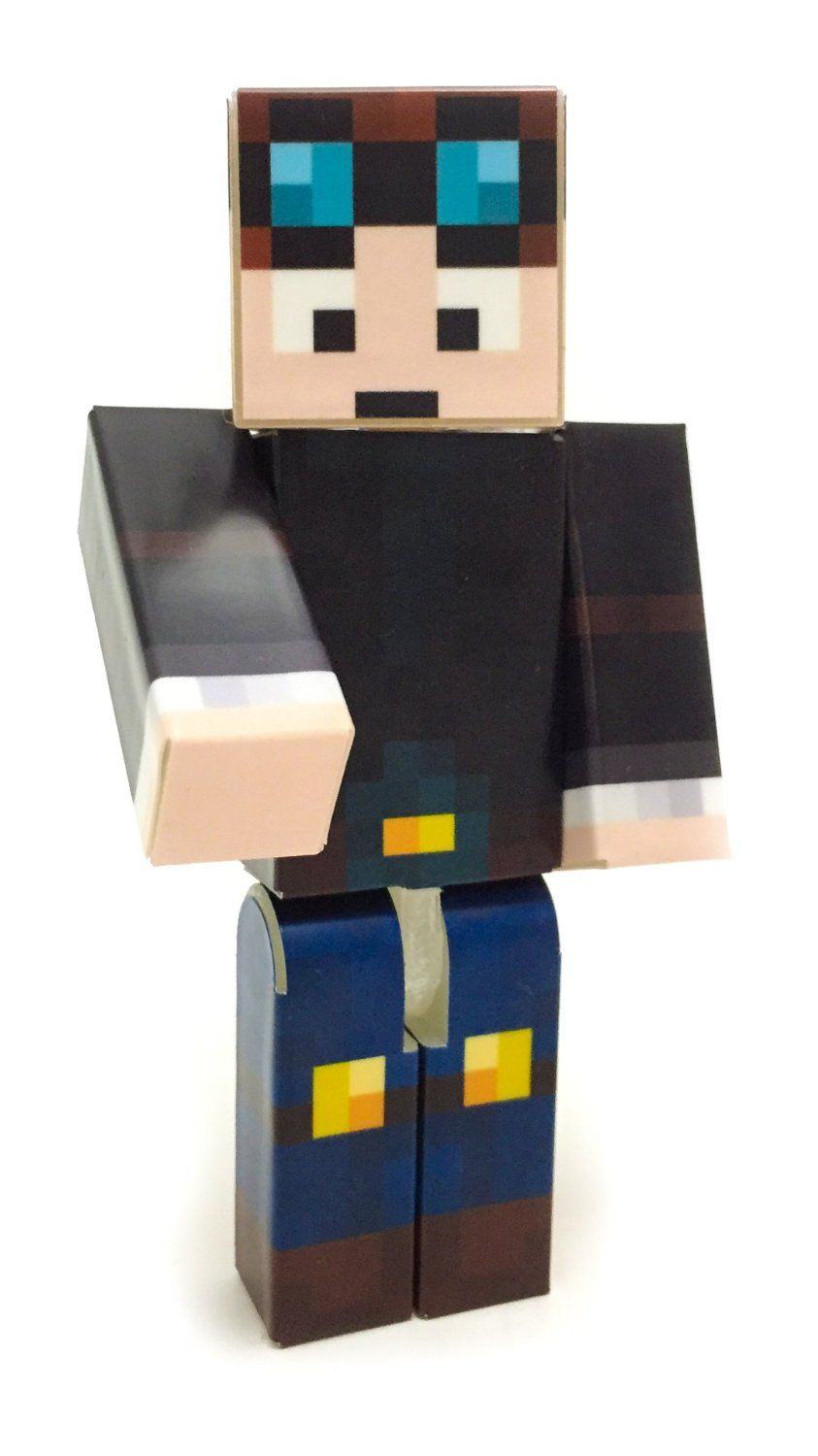 67749234331a Amazon.com  EnderToys - DanTDM - The Diamond Minecart - a plastic toy  Toys    Games