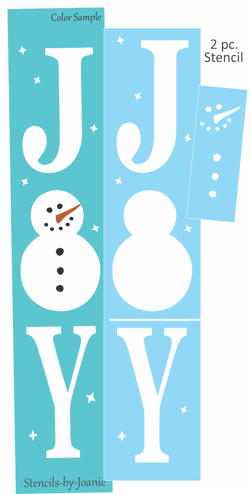Details About Joanie 36 Stencil Vertical Joy Snowman Snowflake Star Winter Porch Cabin Signs Cabin Signs Hobby Lobby Wall Art Stencils