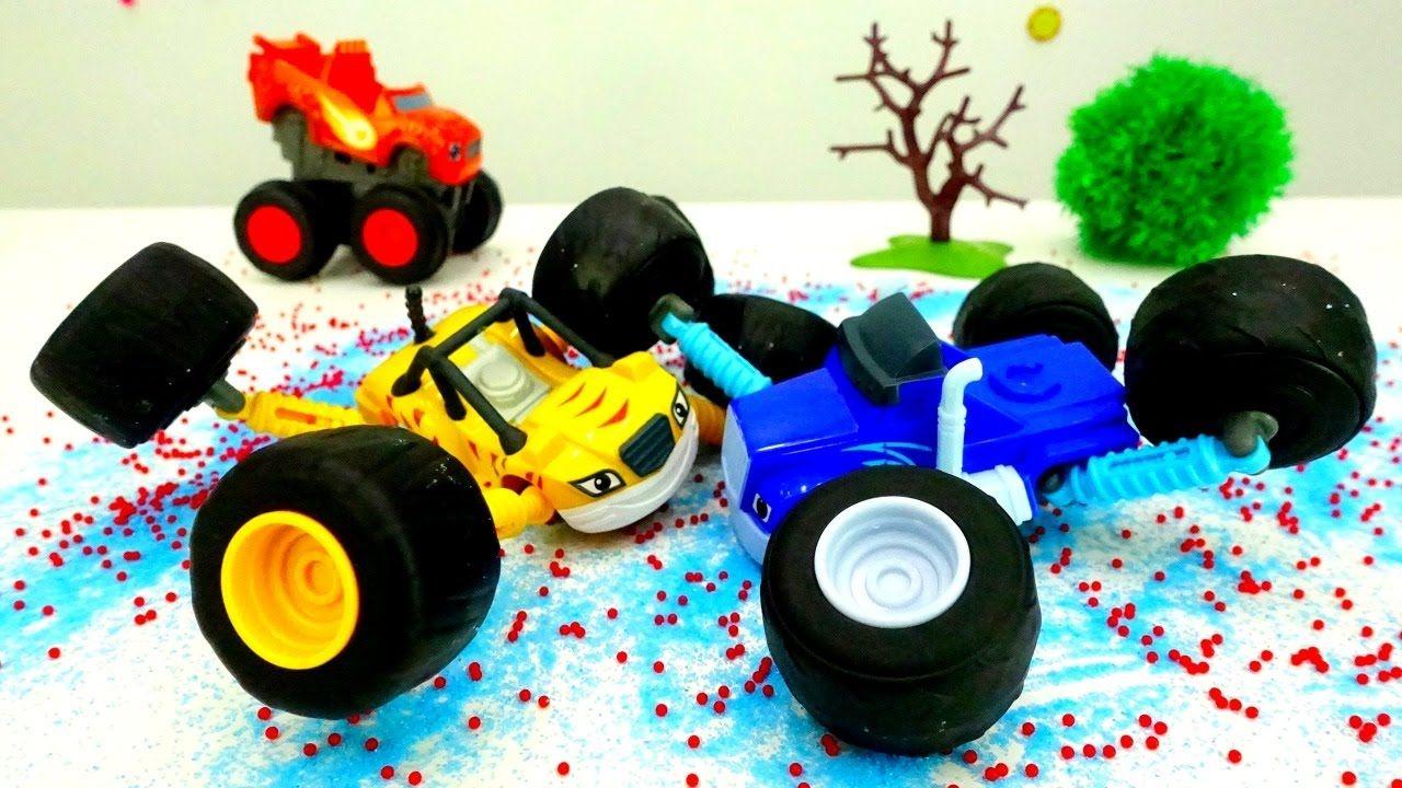 #МАШИНКИ Игры для мальчиков: Чудо Машинки #ВСПЫШ, Рык и ...