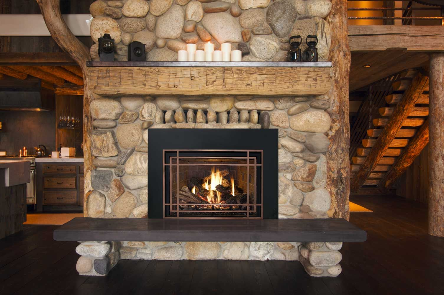 corner stone fireplace wonderful stone fireplace