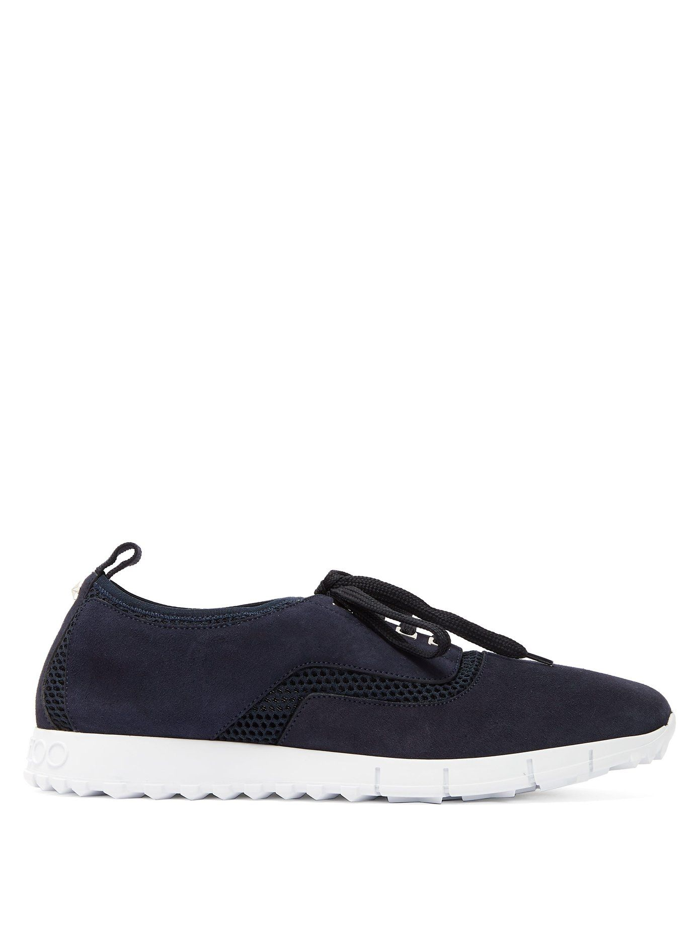 Jenson raised-sole low-top suede trainers Jimmy Choo London Buy Cheap Pay With Visa D3eif