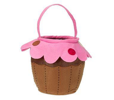 Cupcake Treat Bag Halloween Bags Halloween Treat Bags
