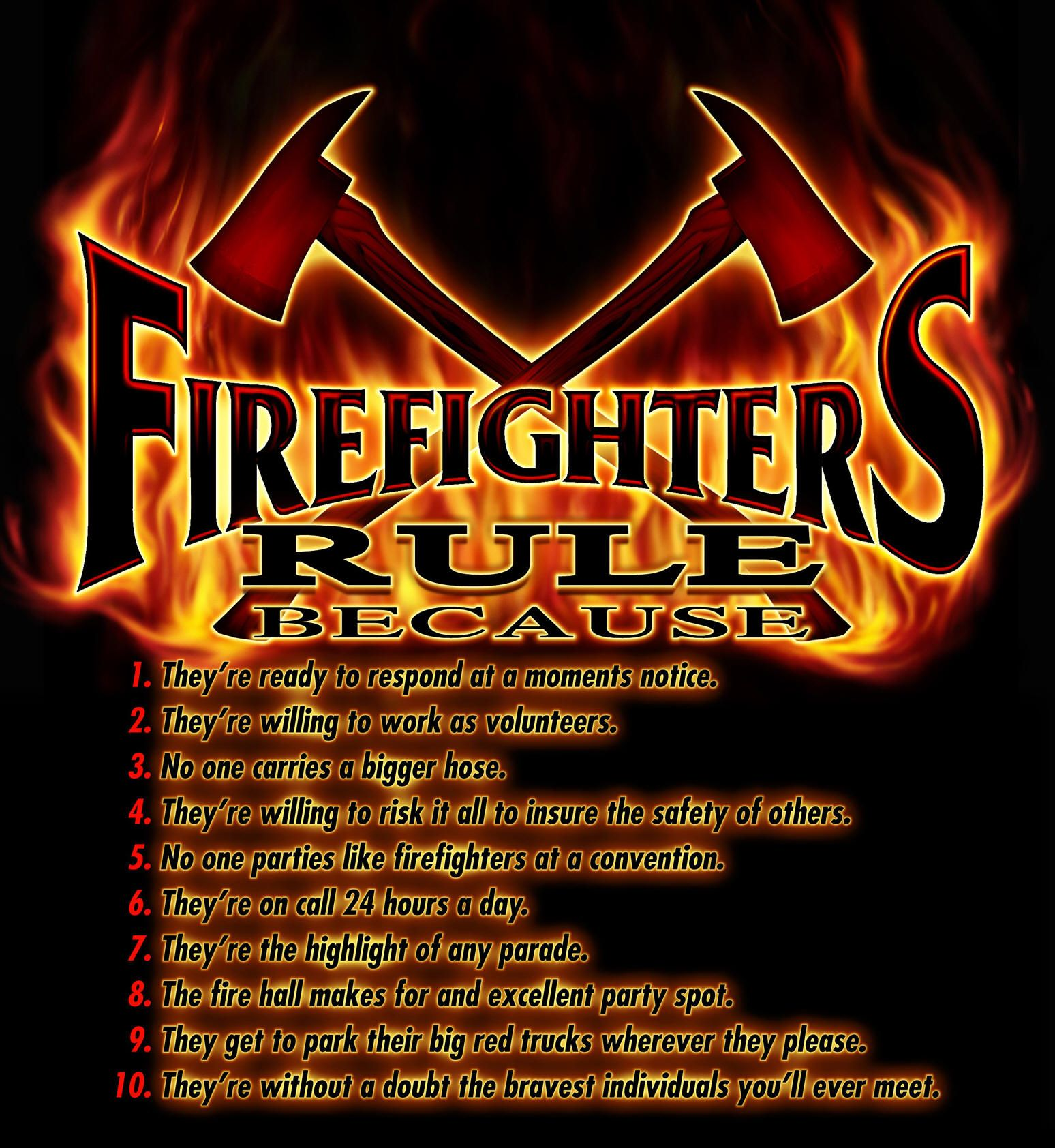 firefighter sayings and quotes firefighters rule