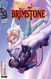 Fire and Brimstone Issue 3 Author:Richard Moore Cover Price: $3.95