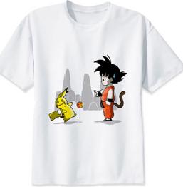 Dragon Ball Z Goku Body Mens Boys T-Shirt Anime Dragonball Top
