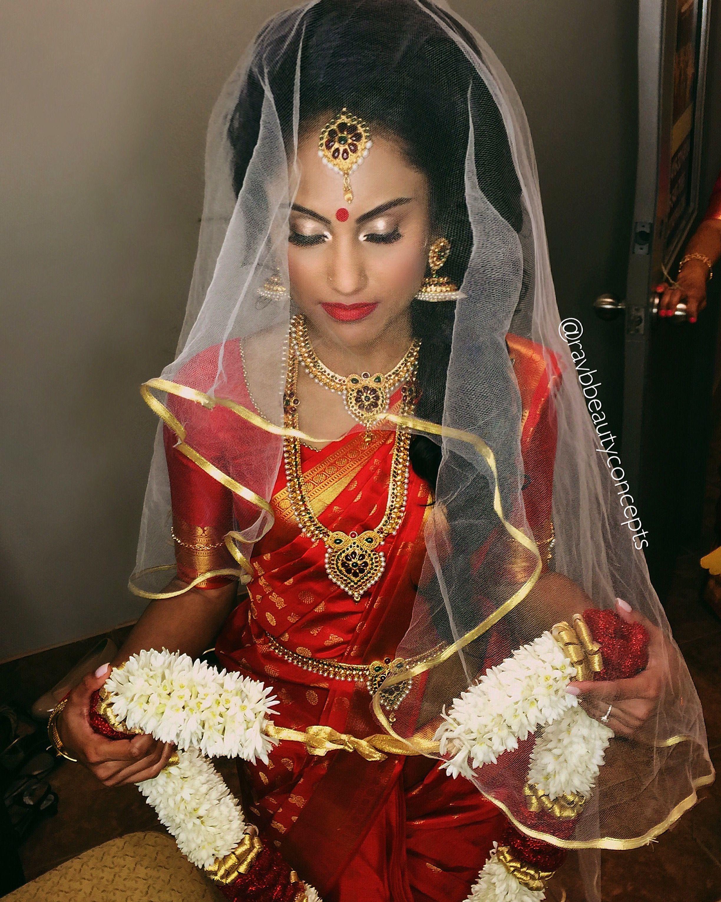 Wedding Hairstyle Tamilnadu: Indian Bridal Makeup, Indian Bridal Hair, Bridal Hair