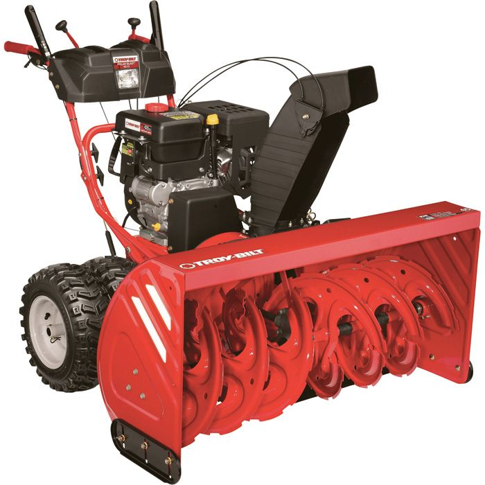 The Snow Is Coming Troy Bilt 45in Electric Start Polar Blast 4510 Snow Thrower Snow Blower Electric Snow Blower Snow Blowers
