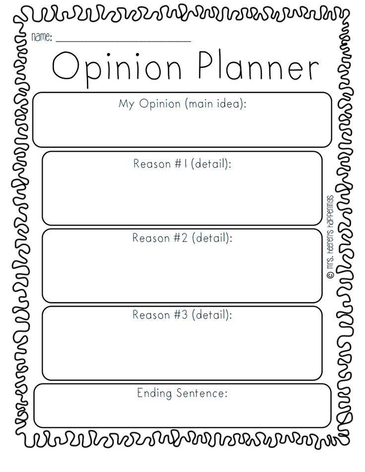 Opinion Writing Templatepdf - Google Drive persuasive writing - writing template