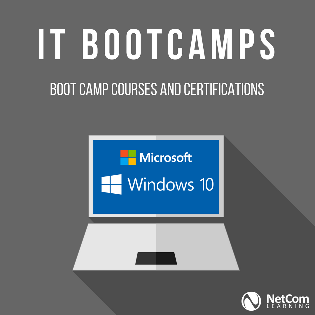 Microsoft Windows 10 Boot Camp Training And Certification By Netcom