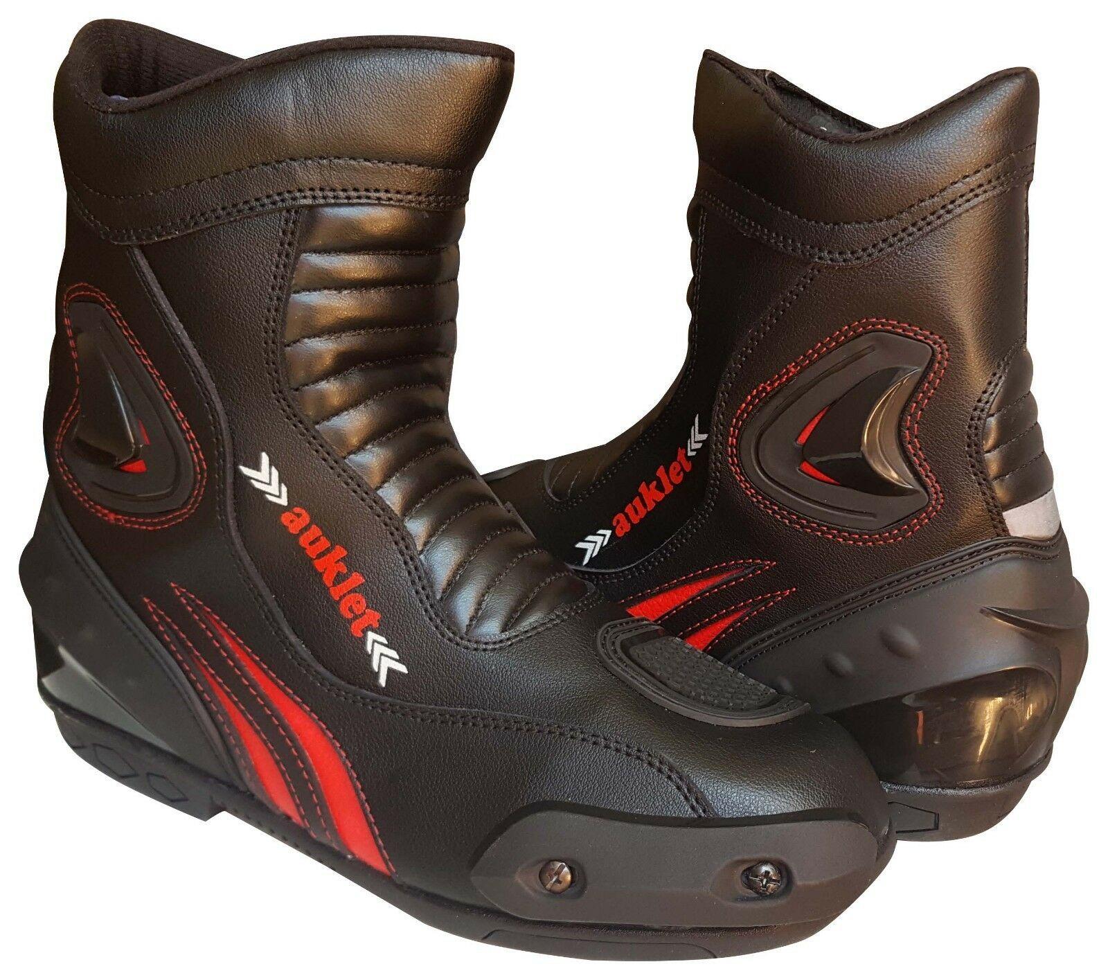 Scarpa Stivale Motociclismo Calzatura Sportiva Moto Auklet
