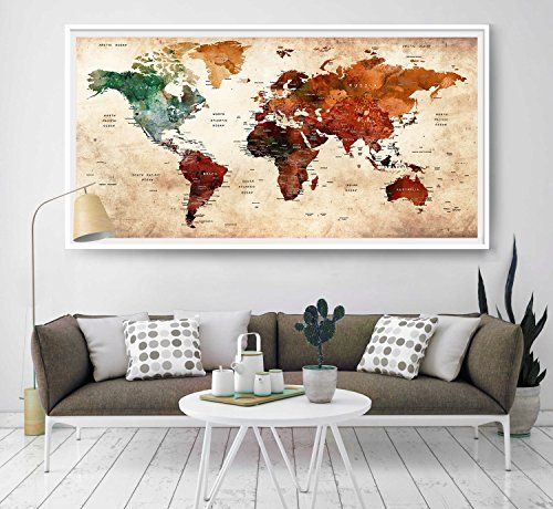 Giant world megamap watercolor large map poster wall ar https giant world megamap watercolor large map poster wall ar https amazondpb078rvjx1lrefcmswrpidpxq4itabzsw9bct pinterest poster gumiabroncs Image collections