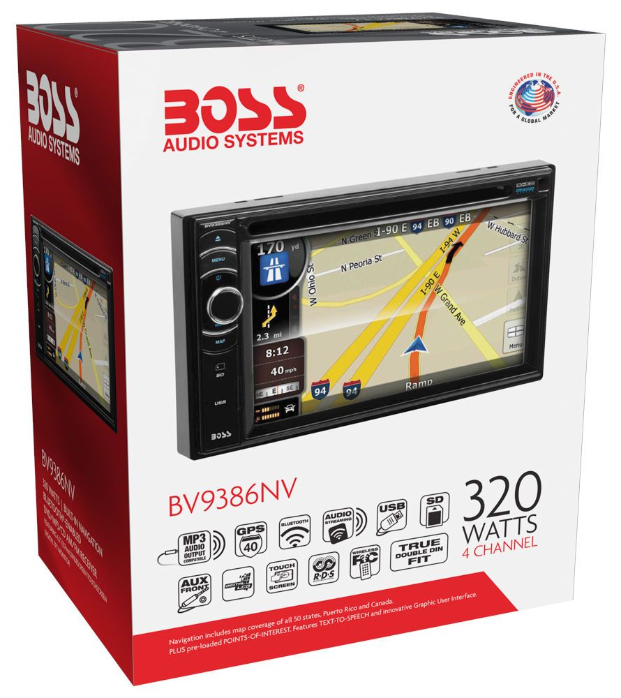Waltco Wiring Diagram Library Mbb Interlift Boss Bv9386nv 2 Din 6 Touchscreen Gps Navigation Bluetooth Dvd Cd