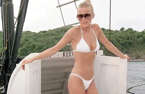 Ladd white bikini