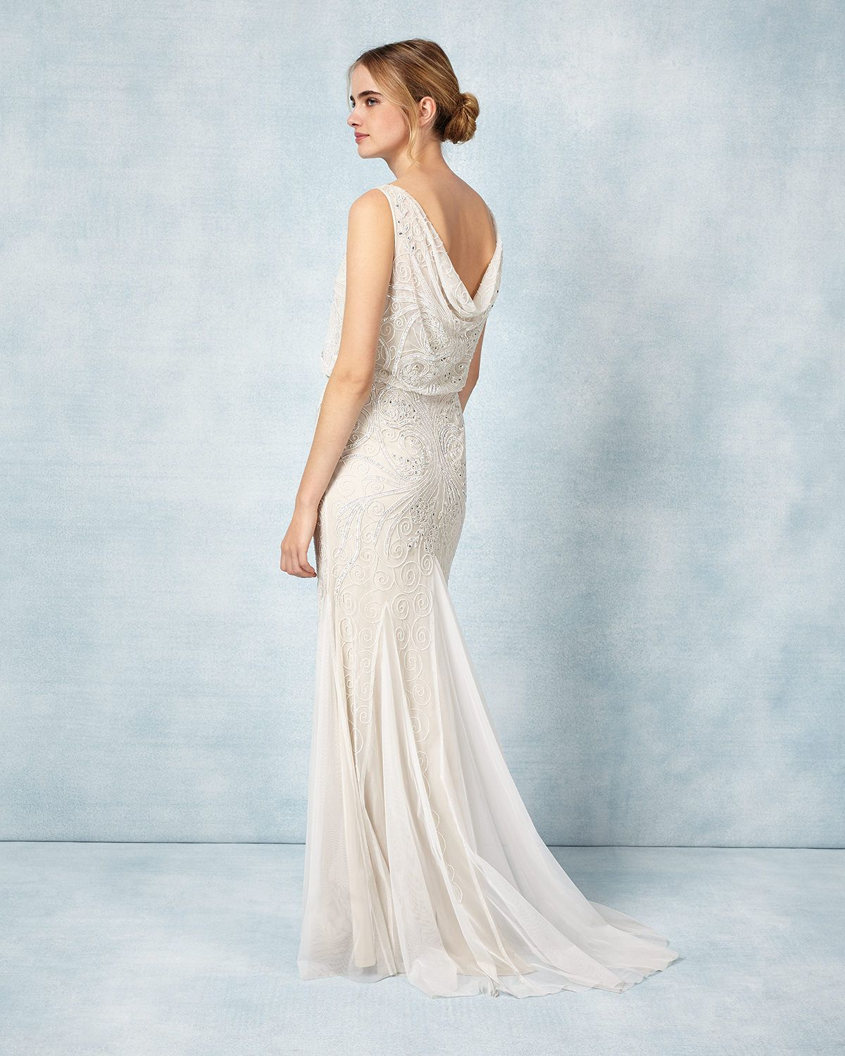 Phase Eight Cathlyn Wedding Dress Cream | Dresses | Pinterest ...