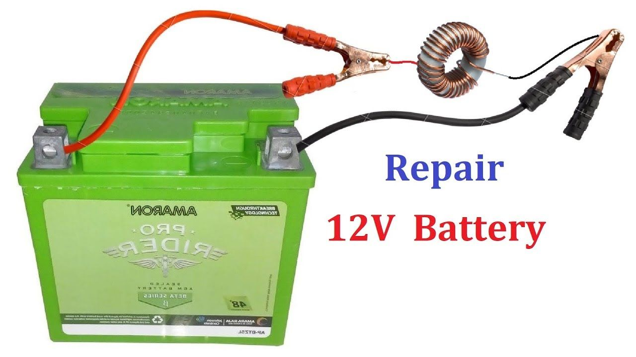 How To Recondition A 12v Car Battery In 2020 Car Battery Recondition Batteries Dead Battery