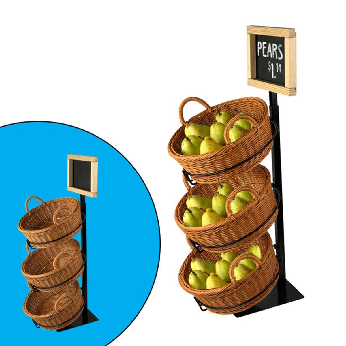 Countertop Vegetable Basket Stand