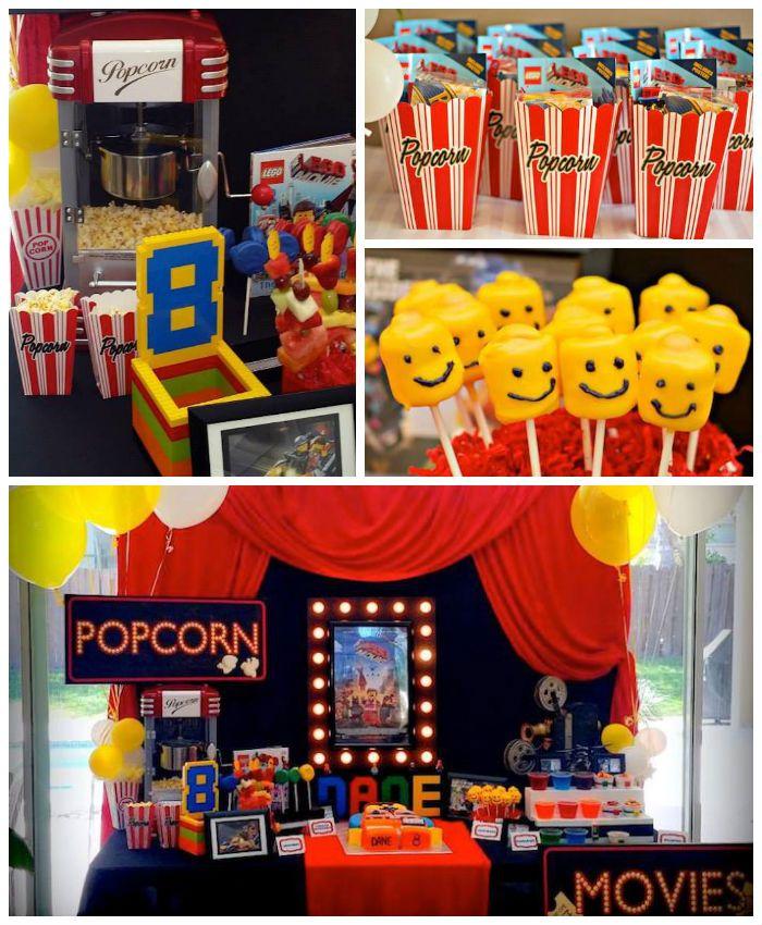 Lego Movie Themed Birthday Party Ideas Planning Decor Cake Idea