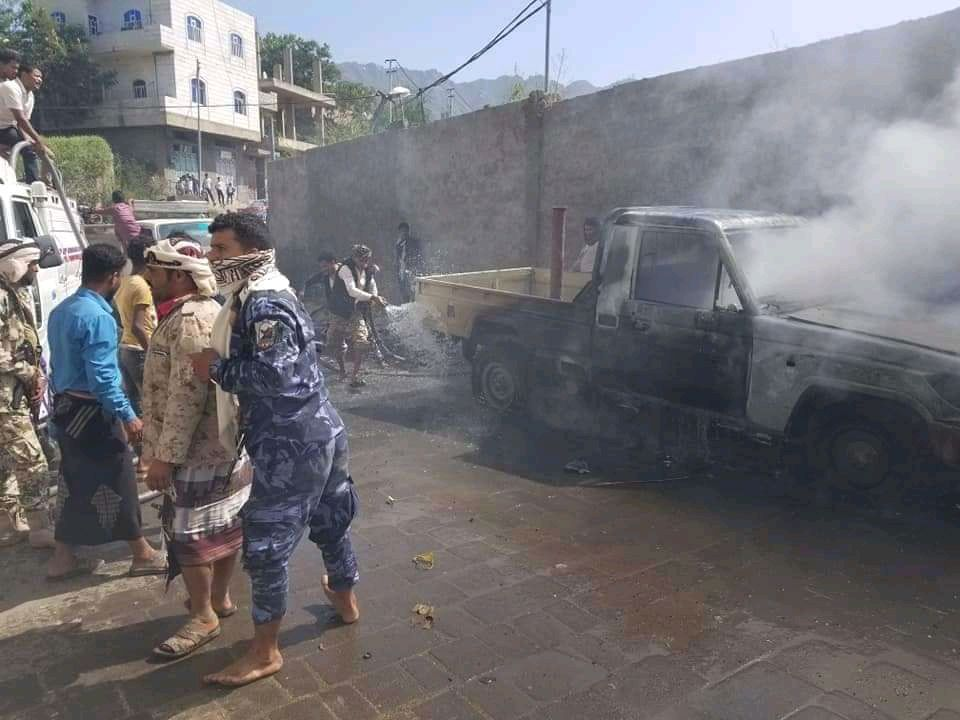 مقتل شخصين وإصابة اخرين بينهم طفلين في انفجار بتعز Monster Trucks Vehicles Trucks