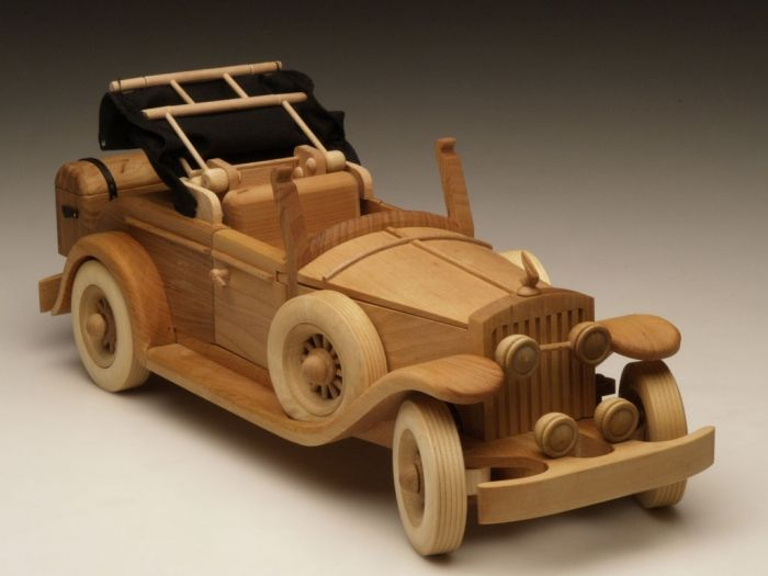 Simple Wood Model Car Plans PDF Woodworking