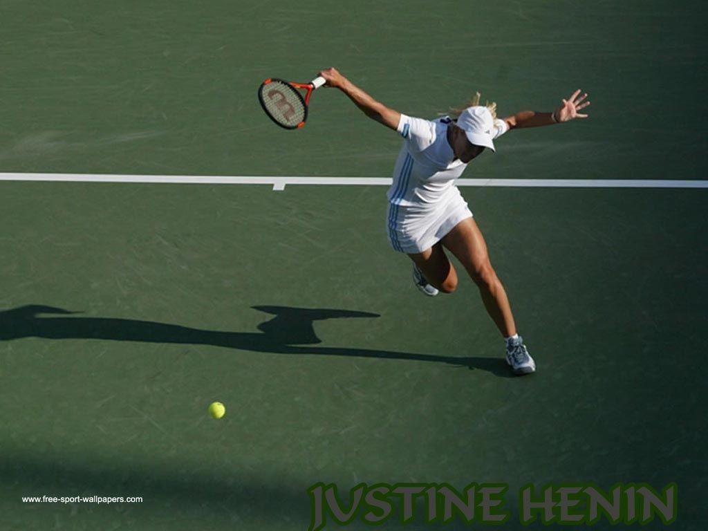 Justine Henin backhand
