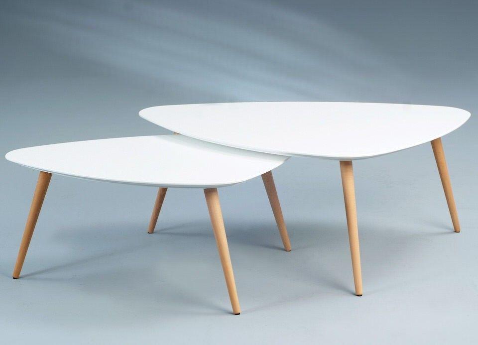 Mooie Design Bijzettafel.M2 Kollektion Niko Salontafel Set Van 2 Woonkamer