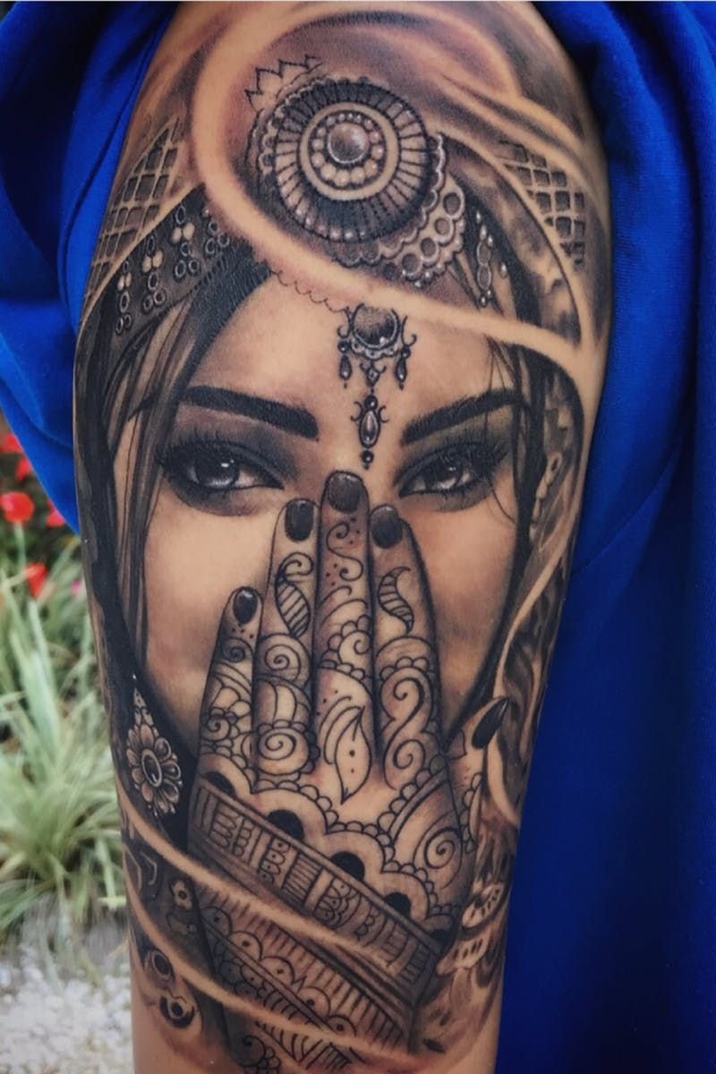 Pin on Gypsy Girl Tattoos