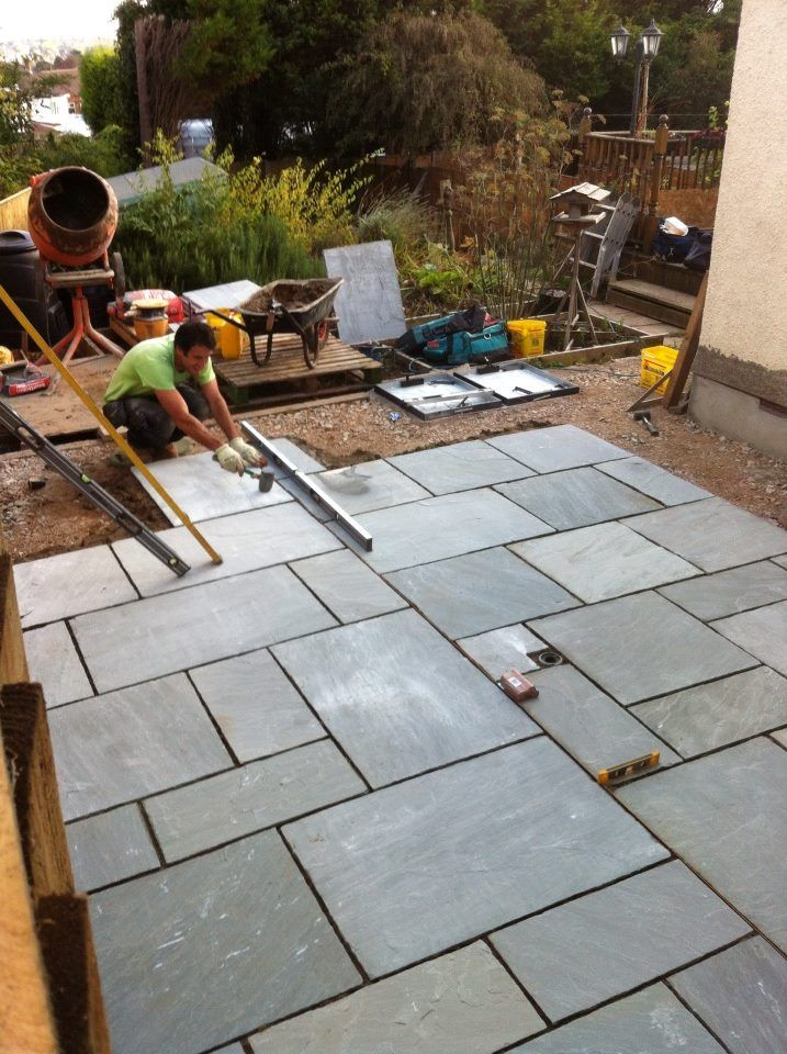 Grey Indian Sandstone Patio   Google Search