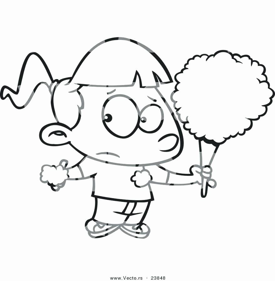 Cotton Candy Coloring Page Beautiful Cotton Candy Coloring Pages