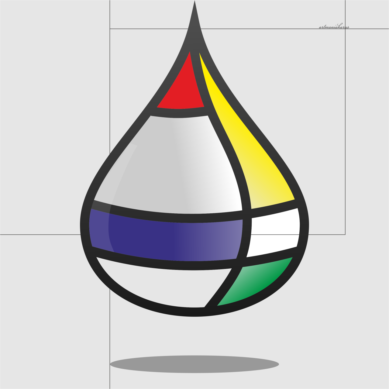 Mondrian By Http Iairs Tumblr Com Math Art Geometric Shapes Art