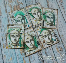 My journey through the Scrapbookworld...: *ATC - Find your third eye...*