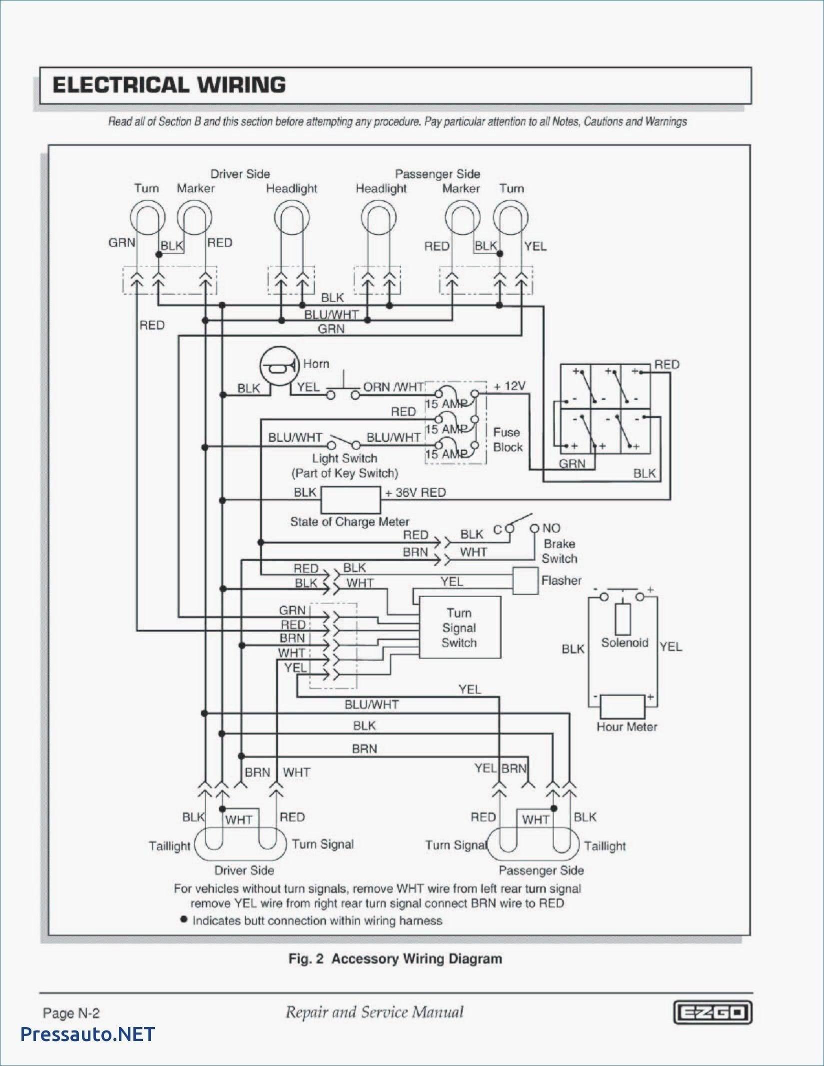 Best Of 1988 Club Car Wiring Diagram Di 2020