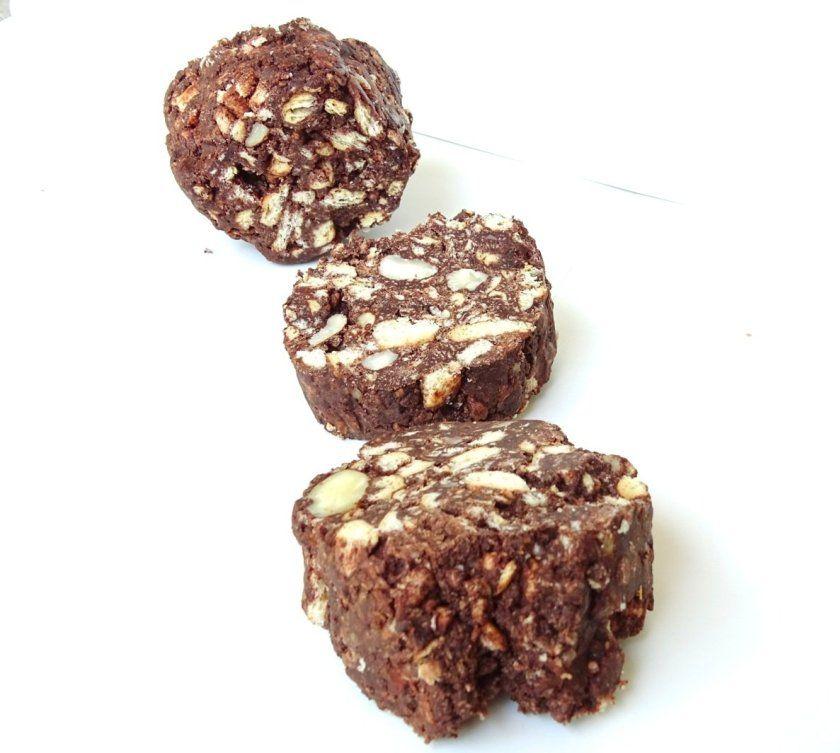 Ricetta Salame Al Cioccolato Proteico.Salame Al Cioccolato Proteico Cioccolato Ricette Fonduta Di Cioccolato