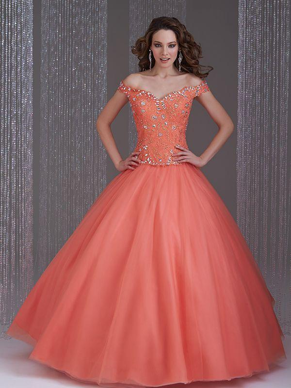 4d7dc81ed Vestidos de quinceañera con manga de Allure Bridals