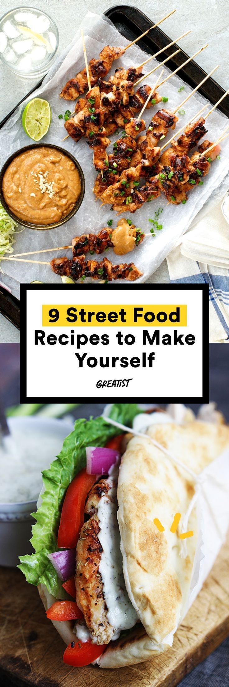 9 Street Food Recipes For When There S No Truck In Sight Asian Street Food World Street Food Food Recipes