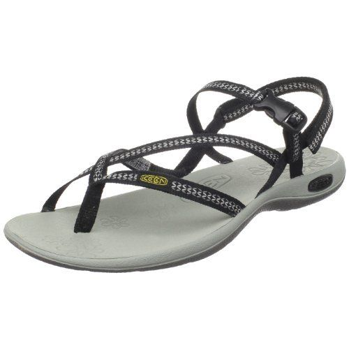 33052d4d535f KEEN Women s La Paz Thong Sandal Keen.  35.00. Non-marking rubber outsole  with razor siping. Heel measures approximately 1