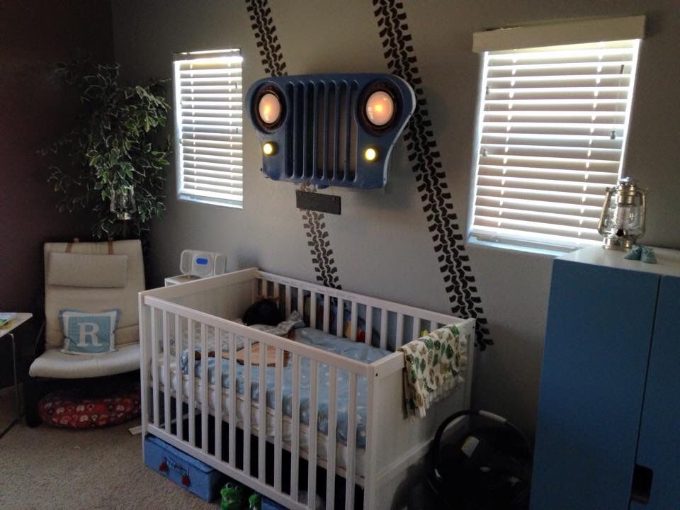My Jeep Nursery Jeep Bed Jeep Baby Jeep Baby Room Ideas