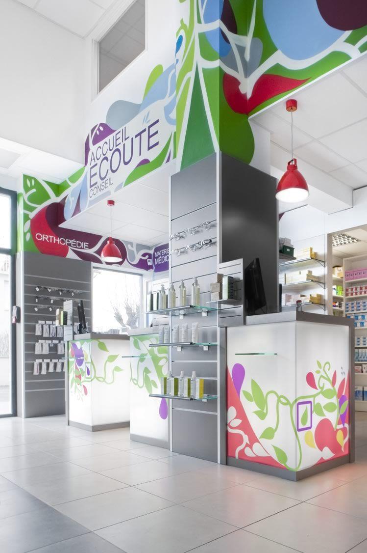 Agencement Pharmacie Henry Judon 53 Pharmacy Pharmacy Design