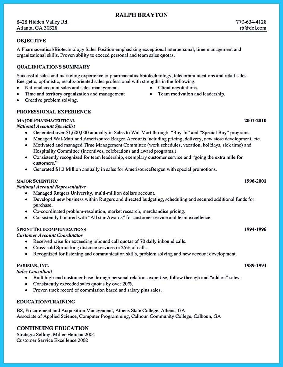 biotechnology resume samples