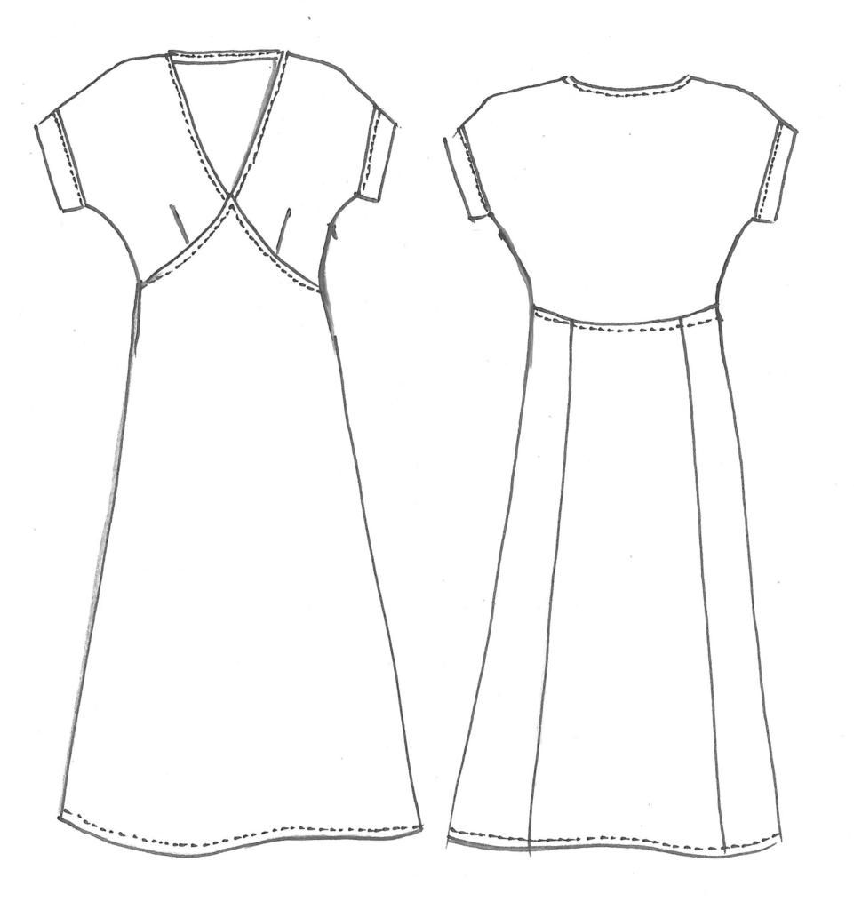 Lois Dress Pattern | Online fabric stores, Dress patterns and Fabric ...