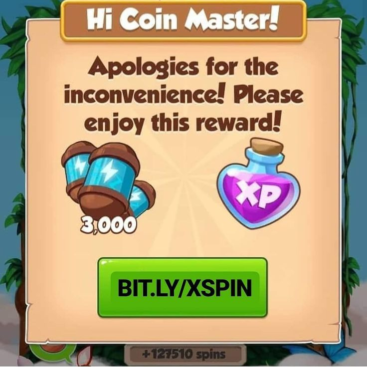 20 free spins coin master