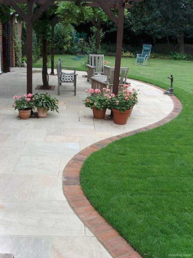 76 Stunning Backyard Patio Ideas Pavers Walkways 36 400 x 300