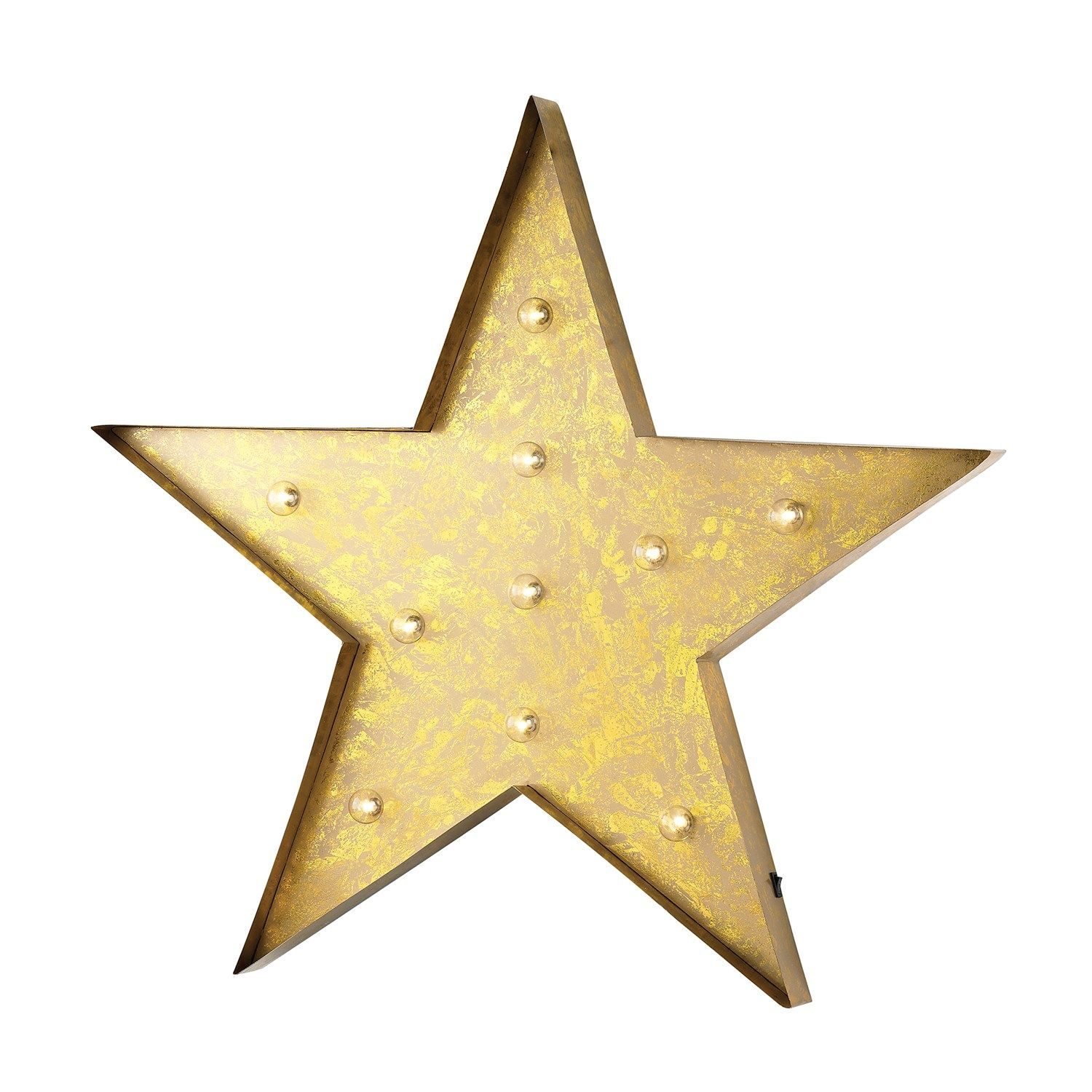 Sterling Industries 51-034 Star Marquee Sign | Marquee sign