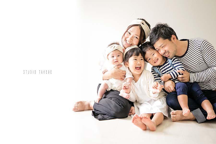 ファミリーフォト family photo studio takebe family photos