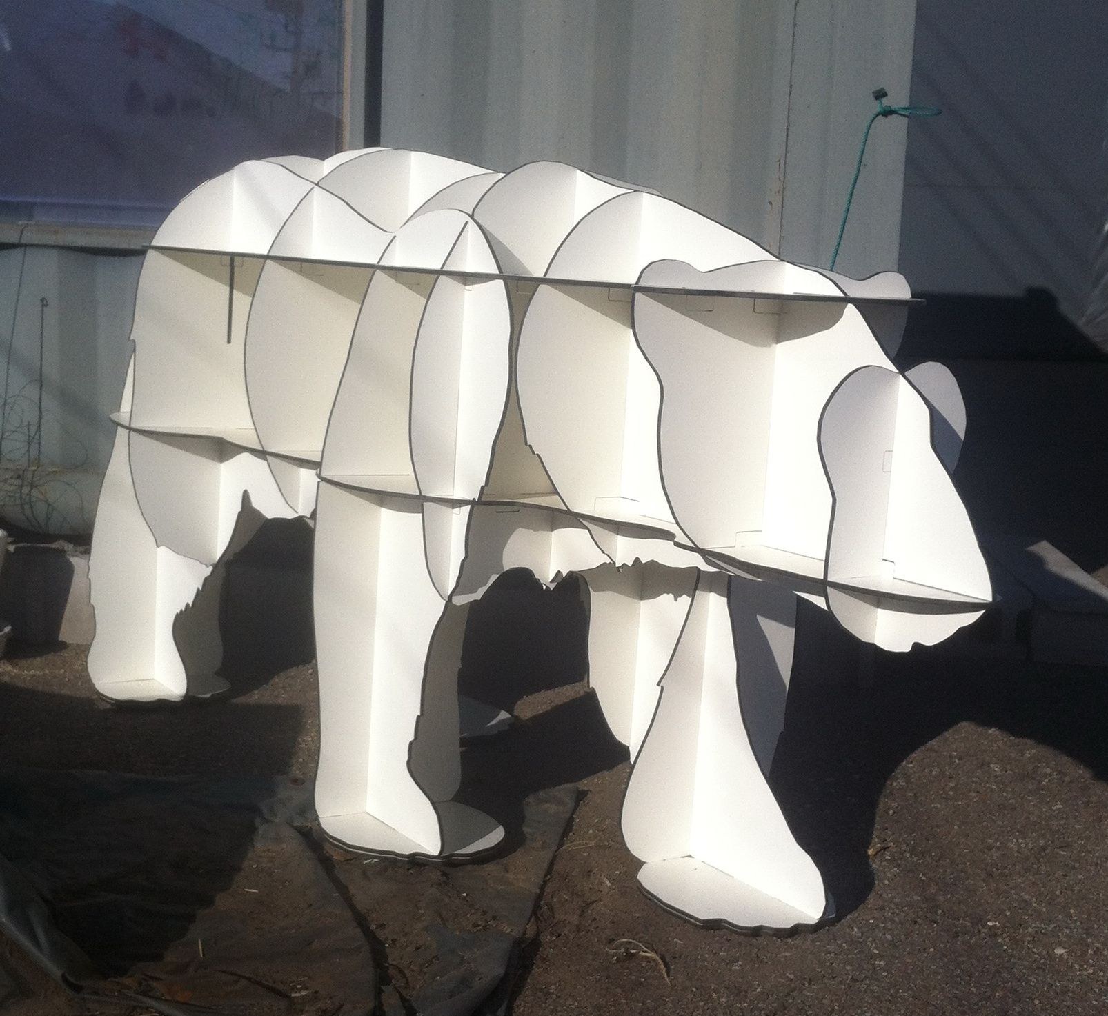 BEAR  / CNC ROUTER / 3D DESIGN /  유창석www.joinxstudio.com