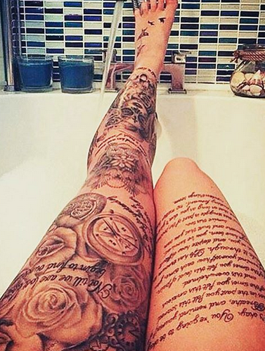 Pin By Araceli Barrera On Tatts I Want Pinterest Tattoos Leg