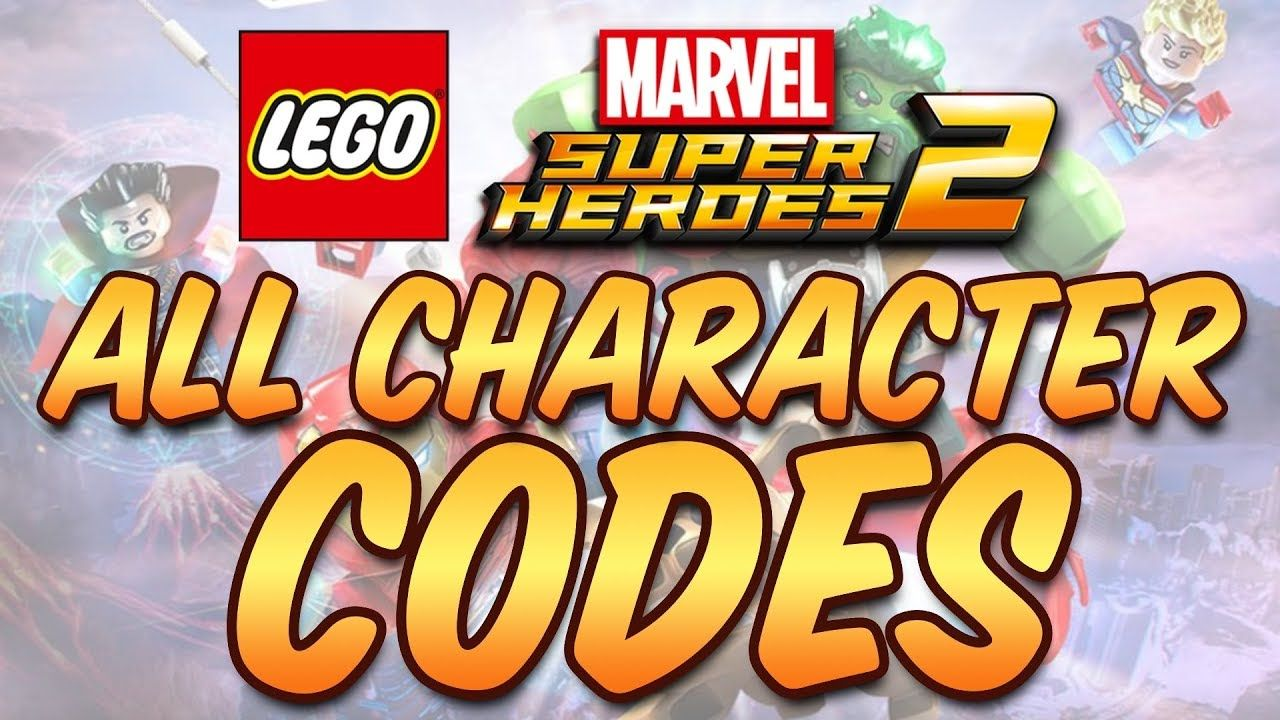 Cheat Codes Lego Marvel Super Heroes