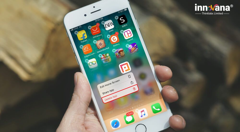 How to delete apps on iphone ipad latest version 2020