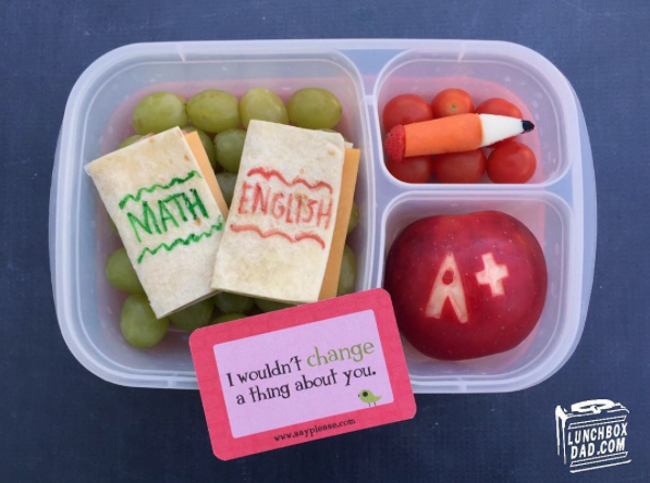 Thank you lunchboxdad for the back-to-school lunch idea  and for topping it off with Lunchbox Love®! Check out more sentiments at www.sayplease.com